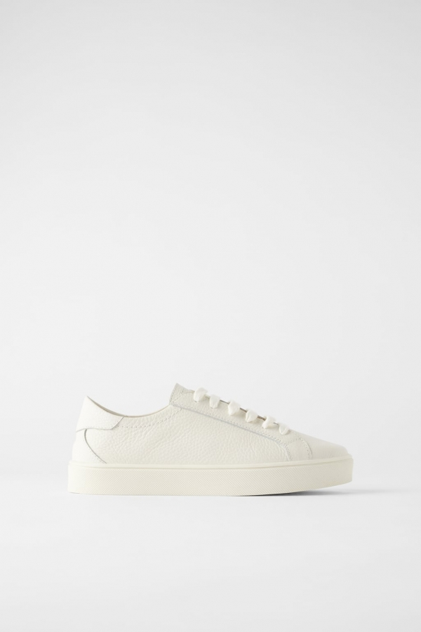 SOFT LEATHER SNEAKERS
